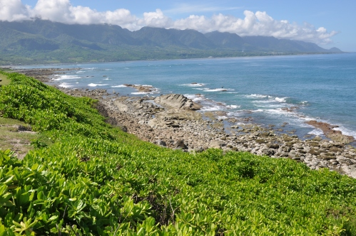 taitung sea coast, taiwan