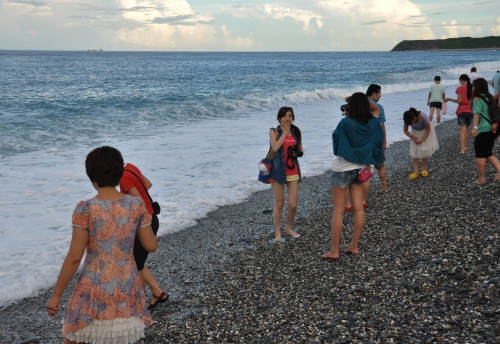 east coast hualien beach taiwan playa costa este