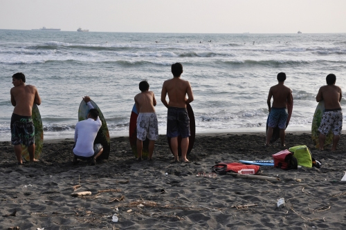 ciijn island,  taiwan, formosa, ferry, sunset, puesta sol, surf, surfing