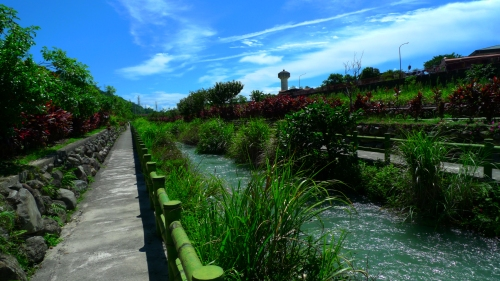 liyu lake hualien taiwan lago liyu cycling path