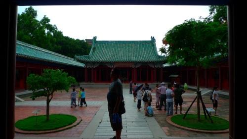 koxinga, shrine, temple, tainan, taiwan, santuario, templo, temple, templo koxinga