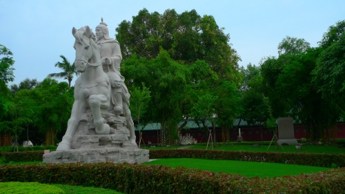 koxinga, taiwan, tainan, estatue, estatua, honor