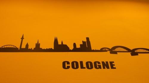 colonia, koln, skyline, sky line