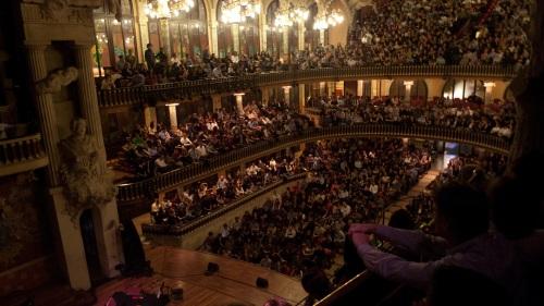 palau, musica, palau musica, palau de la musica, barcelona, bcn, barna, galerie orgue