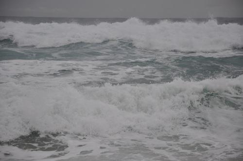 kenting, ken ting, floods, typhoon, tembin, taiwan, south, inundaciones, beach, playa, baisha, baisha bay