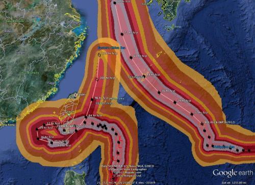 bolaven, tembin, taiwan, typhoon