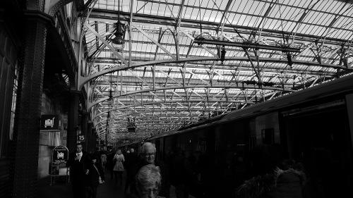 Estación trenes Glasgow, Escocia