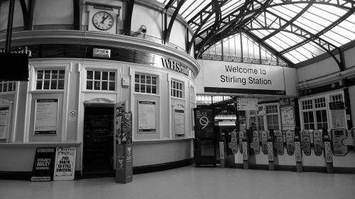 Estación tren Stirling, Escocia