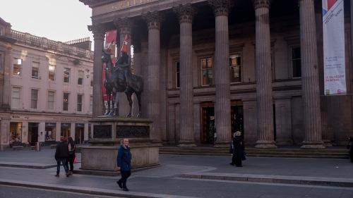 Estatua cono Glasgow, Escocia