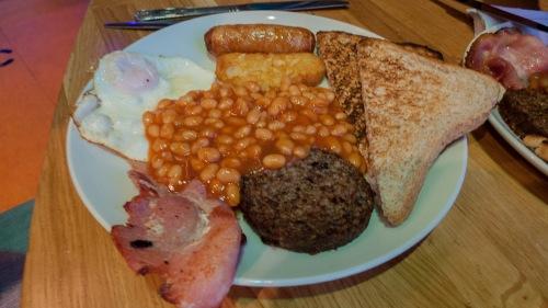 Desayuno para empezar el día con fuerza